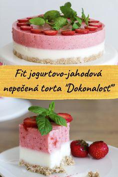 Stevia, Raspberry, Strawberry, Yogurt Cake, Strawberries And Cream, Coconut Sugar, Cake Pans, Healthy Baking, No Bake Cake
