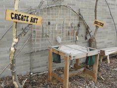 Outdoor Art Area