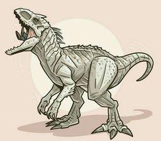 Cool Dinosaurs, Prehistoric Dinosaurs, Jurassic World Dinosaurs, Jurassic Park World, Dinosaur Drawing, Spinosaurus, Monster Art, Pacific Rim, Survival