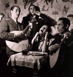 "While singing ""Fado"" emotion is a must. (1952)"