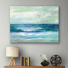 Blue Ocean Art Print on Canvas