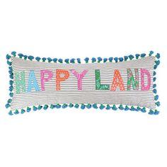 Sis Boom by Jennifer Paganelli Happyland Cotton Pillow