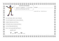 ESOS LOCOS BAJITOS DE INFANTIL: MAS FICHAS DEL PROYECTO LOS CASTILLOS Medieval Knight, Map, Knights, Castles, Medieval Castle, Middle Ages, Activities For Kids, Note Cards, Teachers