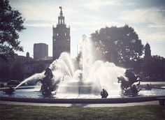 """fromme-toyou: """" From The City of Fountains to the City of Lights… Yesterday I guest blogged """"Top Ten things about Kansas City"""" over on Oh Joy and tonight I'm heading off to Paris (*EEeeeeEeeEE*) to shoot the Breast Cancer Awareness cinemagraph you..."""