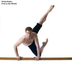First Soloist McGee Maddox. Photo by Sian Richards.