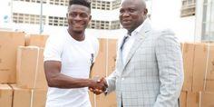 Obafemi Martins donates hospital equipment, mobility aids to Lagos government