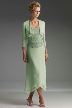 Tea Length Mother Groom Dresses | line Tea-length Chiffon Strapless Lace Mother of Groom Dress - Mother ...