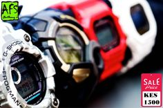 Casio G-Shock digital watches are the ultimate tough watch. Providing durable, waterproof digital watches for every activity. (Available in different colours & designs).