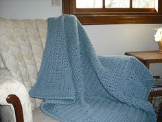 Ravelry: X Box Stitch Afghan pattern by Peggy S Besco