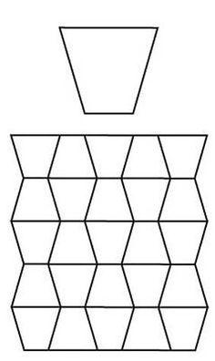Free English Paper Piecing Tumblers Pattern
