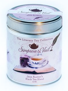 Jane Austen's Black Tea Blend Ingredients: Black teas, spearmint, lavender flowers and vanilla flavor. Brew tea at 212º - steep for 3 minutes. 4 Ounces of loose tea makes approximately 50 cups of tea.