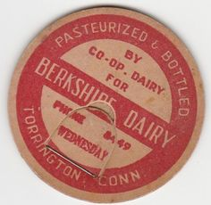 Berkshire Dairy. Torrington Connecticut