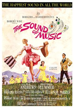 The Sound of Music  Movie Musical Poster Print  13x19 by jangoArts, $19.50