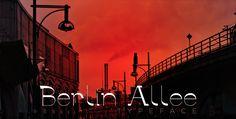 Berlin Allee | Typeface | by Eugenio De Riso, via Behance