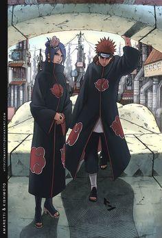 Yahiko & Konan - Naruto