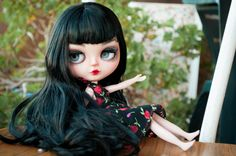 Betty Custom Blythe doll 02 by HRDolls pin up OOAK by HRDolls