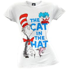 $22.00 Dr. Seuss - Vintage Group Shot Juniors T-Shirt | OldGlory.com