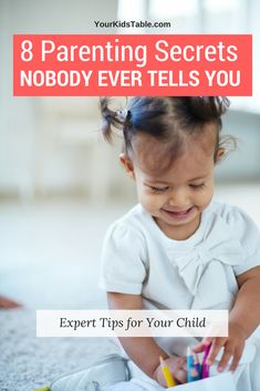 Kids don't come with a handbook, and it's so easy to never be told valuable parenting advice from an expert that can change how you parent and help your child develop.  I'm revealing 8 of these surprising parenting tips... #parenting #newmom #toddler #parentinghacks