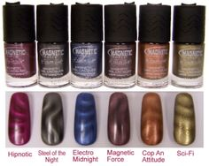 Color Club Magnetic Force Collection -- the newest nail polish trend!
