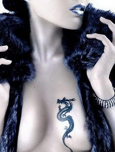 Amazing Knot Tribal Dragon Tattoo For Men