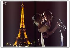 Eiffel Tower wouldn't be in the background of course... but the closeness of the dance is lovely