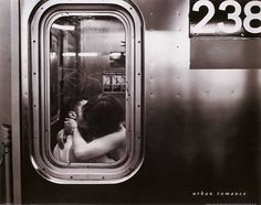 """Urban Romance This print hangs in my dining room, since it backs up to the Blue Line Chicago """"L"""""""