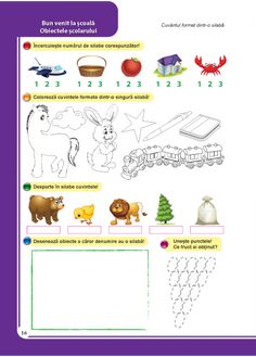 It Works, Roman, Texts, Activities, Children, School, Health, 1st Grades, Kids