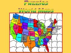 This is a set of 30 individual files. All files are PDF.  Puzzles-  World Maps: -NORTH AMERIKA -SOUTH AMERIKA -EUROPE -AFRIKA -ASIA -AUSTRALIA I've given you 5 slides to look at in the Download Preview *********************************************************** Check out some of my other science powerpoint  EUROPE 1- PowerPoint presentation (59 Slides)   -  North America- South America- 5PowerPoint presentation - AFRICA- EUROPE- 3 PowerPoint presentation (200 Slides)  A> -  8 PowerPoint ...