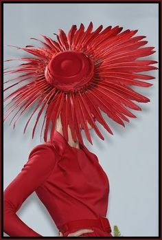The Red Hat Lady