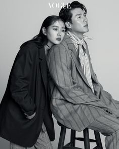 Hyun Bin and Son Ye Jin for Vogue Korea September Photographed by Ahn Joo Young Korean Actresses, Korean Actors, Actors & Actresses, Vogue Korea, Hyun Bin, Couple Posing, Couple Shoot, Couple Photography, Photography Poses