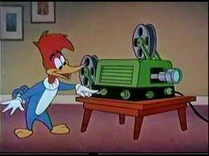 Este famoso personaje ha sido principal de 197 cortos y 350 películas de dibujos animados. En 1978, La Academia otorgó a Walter Lantz un Oscar Honorífico por su contribución al cine animado y por el Pájaro Loco. Listado de Oscar Honoríficos La serie comprendía episodios de media hora que presentaba cortos no sólo de Woody Woodpecker El Pájaro Loco, sino también de Andy Panda, Chilly Willy, Inspector Willoughby (El Bigote que Investiga), Wally Walrus (Pablo Morsa) y muchos más. Retro Cartoons, Old Cartoons, Cartoon Tv, Classic Cartoons, Cartoon Characters, Woody Woodpecker, Looney Tunes, Walter Lantz, Bugs Bunny