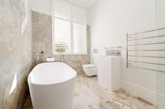 plantation sutters in bathroom