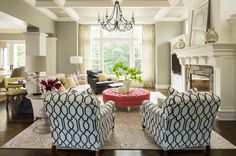 mix and match patterns focal point 10 Easy Ways to Mix and Match Patterns in your Home