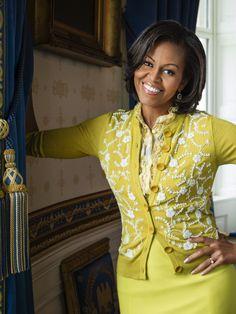 FLOTUS Michelle Obama Talks to
