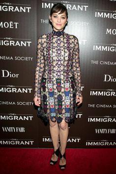Celebrity Style - Marion Cotillard - monstylepin #fashion #celebrity #style #redcarpet #coktaildress #marioncotillard #fashionicon