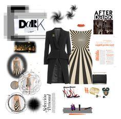 """Loving this dress"" by deborah-518 ❤ liked on Polyvore featuring Gareth Pugh, Alexander McQueen, M2Malletier, Lipsy, Loren Hope, Mondevio, Tarina Tarantino, David Yurman, Chanel and Trademark Fine Art"