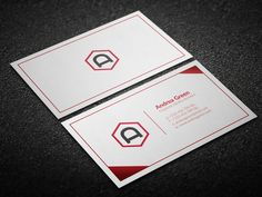 Corporate Business Card by DemeDev on Creative Market