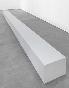 Floor Piece (Bench) - Robert Morris. Artist: Robert Morris