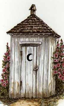 An Anniversary Outhouse - via http://bit.ly/epinner