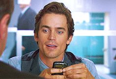 Matt Bomer <3 He's like Ken. Everything about his face (and bod lol) is perfect. It's unreal haha.