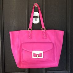 ✨✨{MbMJ} Blossom Pink Bianca Hayley Bag Brand new with tags, color: blossom pink. Retail $498+tax. Sold out. ❗️Price is firm, even when bundled❗️  ❌ No Trades/ No PayPal  ❌ No Lowballing  ✅ Bundle Discounts ✅ Ship Same or Next Day  % Authentic Marc by Marc Jacobs Bags Shoulder Bags