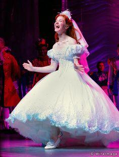 Sierra Boggess as Ariel in The Little Mermaid