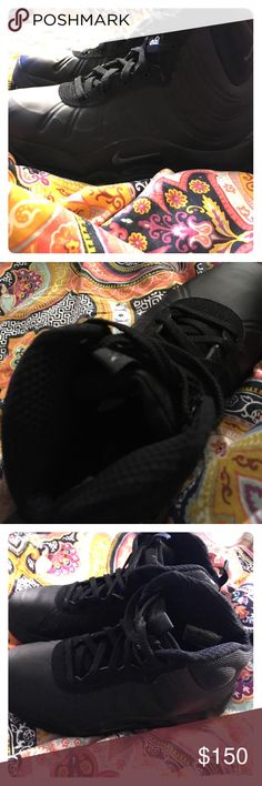 Nike  Boots ACG Foamposite  boots Black Nike Boots ACG Foamposite like new wore one time size 7 men or youth Nike ACG Shoes Athletic Shoes