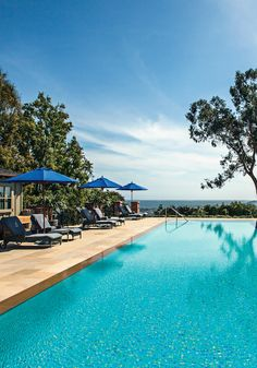 Best Comeback Runner-up: Belmond El Encanto in Santa Barbara, California. #JetsetterAwards
