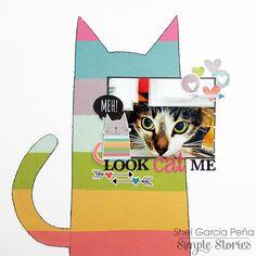 """la vida en scrap: Look """"cat"""" me! con Simple Stories"""