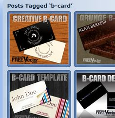 Printable Blank Business Cards | Business Card Templates