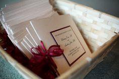 Pretty My Drink: DIY Wedding Programs