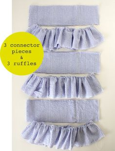 how to make a ruffled skirt