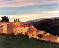 Sainte-Maxime Landscape / Andre Derain - circa 1930