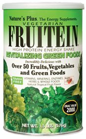 Nature's Plus Fruitein Green Foods #VitaminShoppe #GreenForGreen